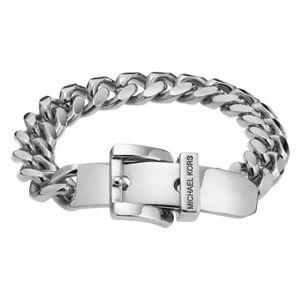 Michael Kors Metallic Buckle Chain Bracelet